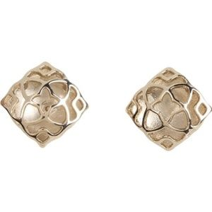 Gold Kendra Scott Tima Stud Earrings